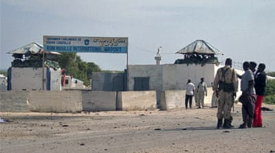 Somalia airport comes under attack