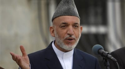 Karzai confirms Taliban talks