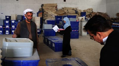Fraud threatens Afghan election