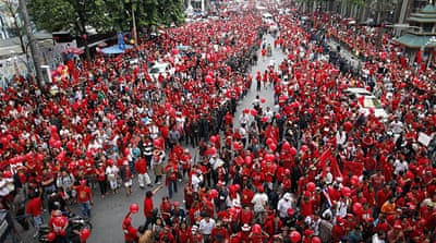 Thai 'Red Shirts' mark 2006 coup