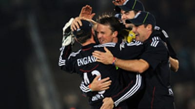 England wrap up scandal-hit series