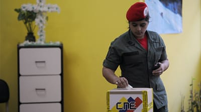 Venezuela poll tests Chavez
