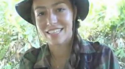 The Netherlands' Farc fighter