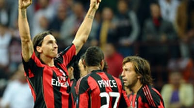 Ibrahimovic back at Ajax with Milan