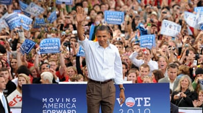 Obama seeks to 'fire up' Democrats