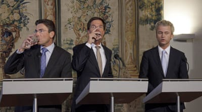 'Burqa ban' key to Dutch coalition