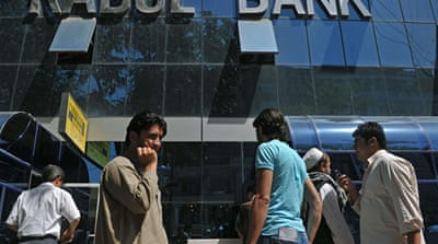 Panic grips Afghan bank customers