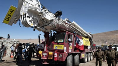 Chile mine rescue effort bolstered