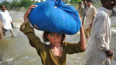 'Millions' without aid in Pakistan