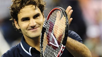 Federer blows Soderling off court