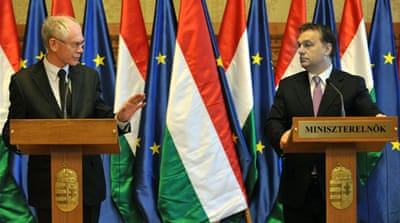 Hungary takes EU presidency