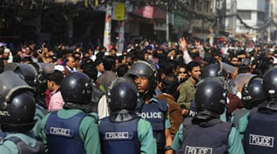 Dhaka investors riot after crash