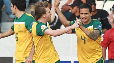 Socceroos stroll to India win