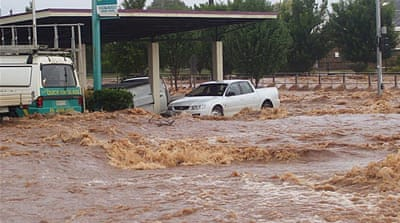 More floods ravage Australia