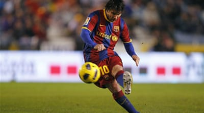 Messi wins FIFA Ballon d'Or 2010