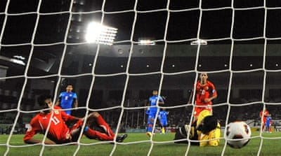 Bahrain beat India 5-2 in Asian Cup