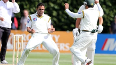 Pakistan take early advantage