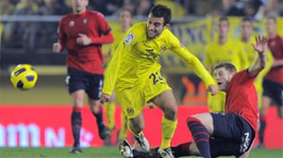 Villarreal third as Real watch Ruud