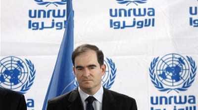UNRWA heads in Palestine quit