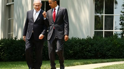 Netanyahu at White House for Obama talks