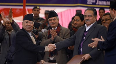 Nepal gains control of ex-fighters