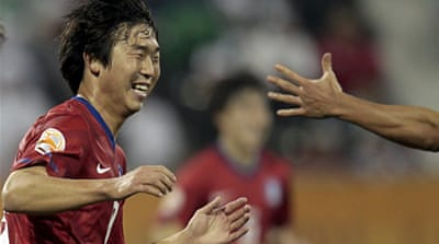 Yoon puts South Korea in semis