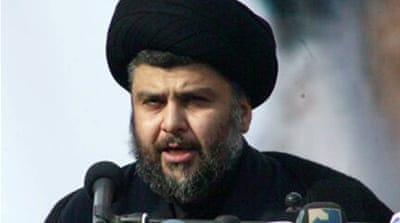 Iraq's al-Sadr suspends attacks on US forces
