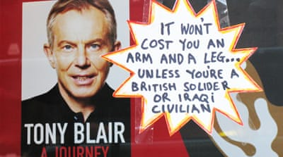 Blair's continuing thirst for war