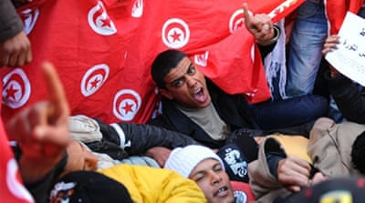 'Liberation caravan' reaches Tunis
