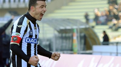 Udinese give Leonardo first loss