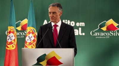 Portuguese president wins new term