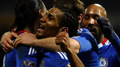 Chelsea fire four past Bolton