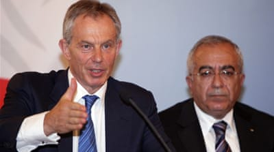 "Blair's counter-insurgency ""surge"""