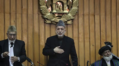 Anger as Karzai opens parliament
