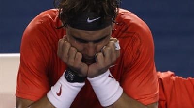 Nadal's Grand Slam dream ends
