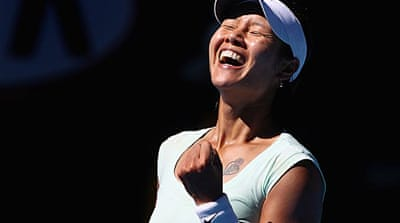 Li to face Clijsters in Australia