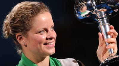 Clijsters wins Australian Open
