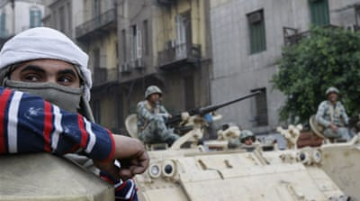 Egypt's military in a quandary