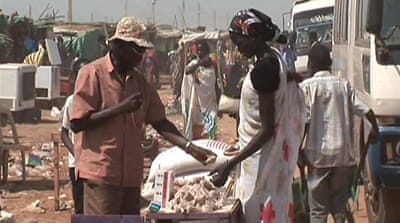 Sudan split frightens traders