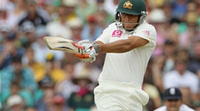 Khawaja provides sheen in Sydney