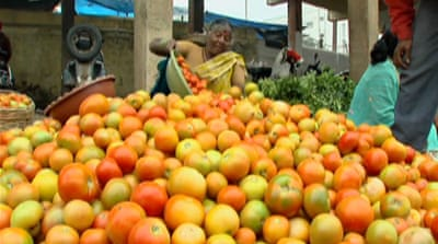 Indians endure rising food prices