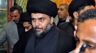 Al-Sadr back in Iraq stronghold
