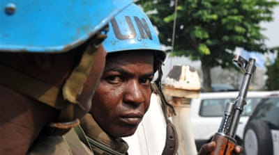 UN seeks troops for Cote d'Ivoire