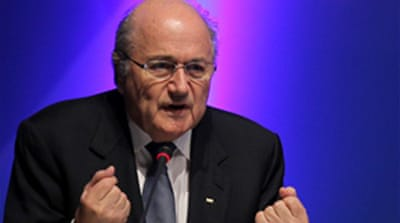 Blatter rounds on 'jealous' critics