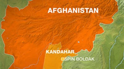 Blast hits Afghan police officers