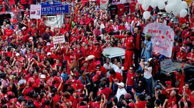 'Red shirts' rally in Thai capital