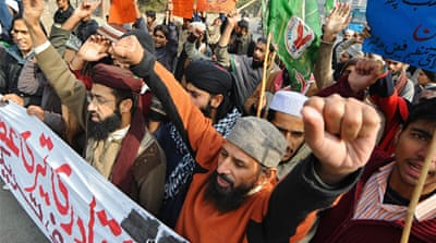 Pakistan rally backs blasphemy law