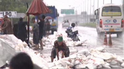 Thai capital prepares for floodwaters