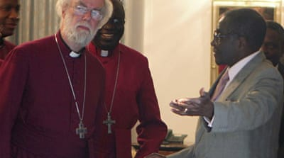 Archbishop meets Mugabe over church rift