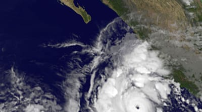 Hurricane Jova strikes Mexico